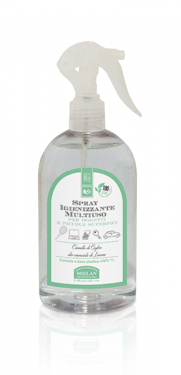 Helan I RIMEDI DI HELAN Spray Igienizzante Multiuso 500 ml