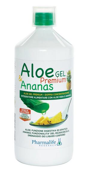 Pharmalife Research - Aloe Gel Premium & Ananas -1 L