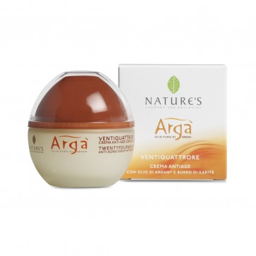 Bios Line Nature's ARGA' Crema Ventiquattrore Antiage 50 ml