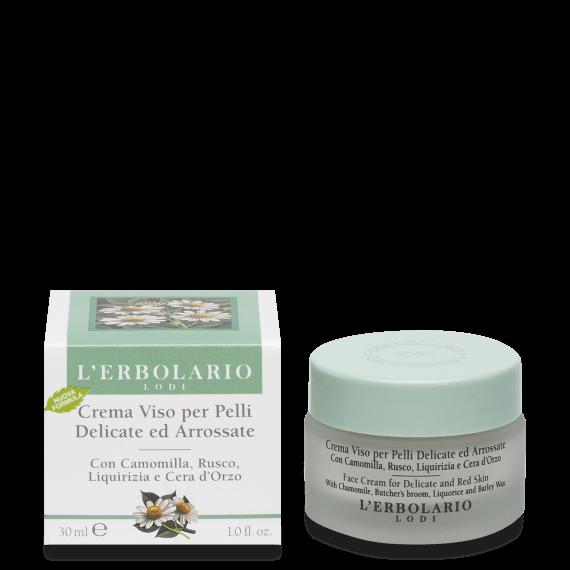 L'Erbolario Crema Viso per Pelli Delicate 30 ml