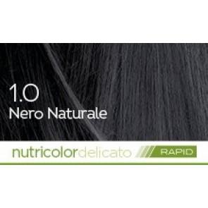 Bios Line Biokap Nutricolor Tinta Delicato Rapid 135 ml - 1.0 NERO NATURALE