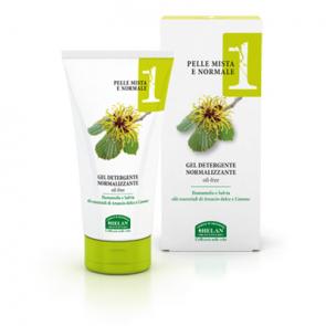 Helan LINEA VISO 1 - Pelle Mista e Normale - Gel Detergente Normalizzante 150 ml