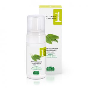 Helan LINEA VISO 1 - Pelle Mista e Normale - Mousse Detergente Riequilibrante 100 ml