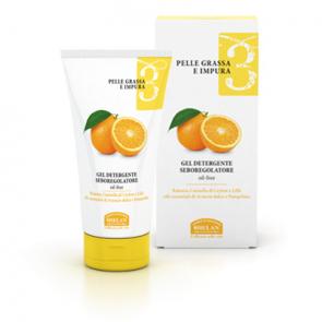 Helan LINEA VISO 3 - Pelle Grassa e Impura - Gel Detergente Seboregolatore 150 ml