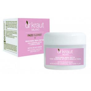 Dr. Kraut Maschera nera detox al carbone attivo e argilla pura 100 ml