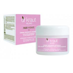 Dr. Kraut Crema idratante intensiva collagene marino+acido jalur 100ML