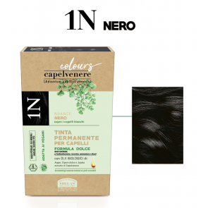 Helan CAPELVENERE COLOURS Tinte Permanenti - 1N Nero 125 ml