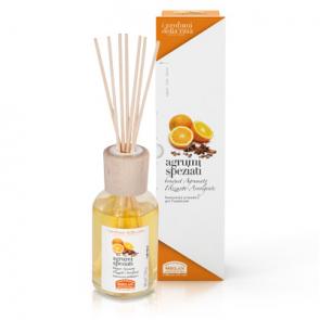 Helan I PROFUMI DELLA CASA - Bastoncini Aromatici - Agrumi Speziati 100 ml