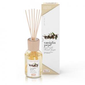 Helan I PROFUMI DELLA CASA Bastoncini Aromatici Vaniglia Pepe 100 ml