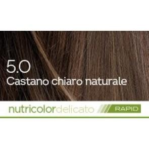 Bios Line Biokap Nutricolor Tinta Delicato Rapid 135 ml - 5.0 CASTANO CHIARO NATURALE
