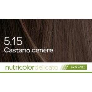 Bios Line Biokap Nutricolor Tinta Delicato Rapid 135 ml - 5.15 CASTANO CENERE