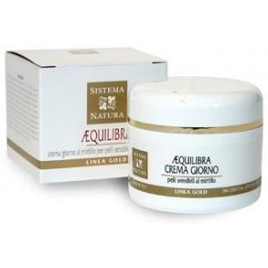 Sistema Natura Aequilibria crema giorno al mirtillo per pelli sensibili e con couperose- 50 ml