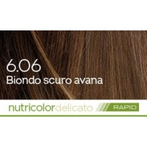 Bios Line Biokap Nutricolor Tinta Delicato Rapid 135 ml - 6.06 BIONDO SCURO AVANA