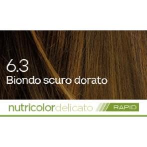 Bios Line BioKap Nutricolor Tinta Delicato Rapid 135 ml - 6.3 BIONDO SCURO DORATO