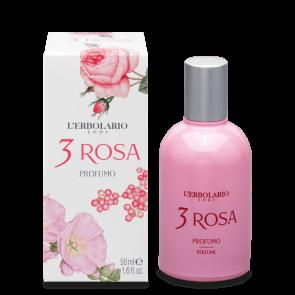 L'Erbolario Profumo 3 Rosa 50 ml