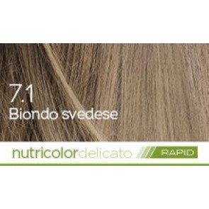 Bios Line Biokap Nutricolor Tinta Delicato Rapid 135 ml - 7.1 BIONDO SVEDESE