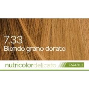 Bios Line Biokap Nutricolor Tinta Delicato Rapid 135 ml - 7.33 BIONDO GRANO DORATO