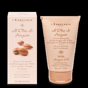 L'Erbolario Crema Detergente Viso All'Olio di Argan 125 ml
