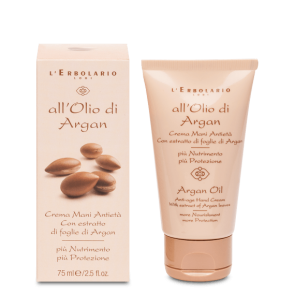 L'Erbolario Crema Mani Antietà All'Olio di Argan 75 ml