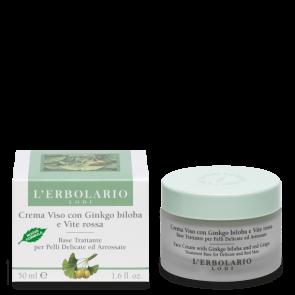 L'Erbolario Crema Viso Anti Rossore per Pelli Delicate 50 ml