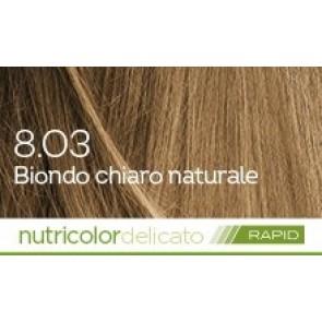 Bios Line Biokap Nutricolor Tinta Delicato Rapid 135 ml - 8.03 BIONDO CHIARO NATURALE