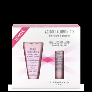 L'Erbolario Set Mani & Labbra Acido Ialuronico