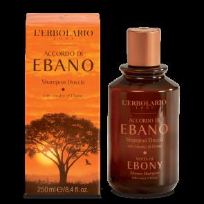 L'Erbolario Shampoo Doccia Accordo di Ebano 250 ml
