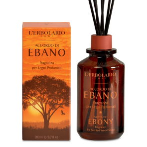 L'Erbolario Fragranza per Legni Profumati Accordo di Ebano 200 ml