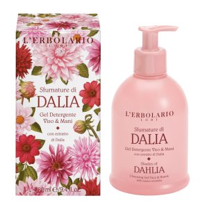 L'Erbolario Gel Detergente Viso & Mani Sfumature di Dalia 280 ml