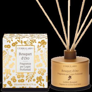 L'Erbolario Fragranza per Legni Profumati Bouquet d'Oro 200 ml