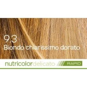Bios Line Biokap Nutricolor Tinta Delicato Rapid 135 ml - 9.3 BIONDO CHIARISSIMO DORATO