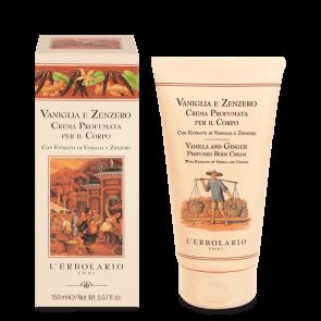 L'Erbolario Crema Profumata per il Corpo Vaniglia e Zenzero 150 ml