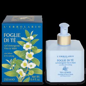 L' Erbolario Foglie di Tè Detergente viso e mani 250 ml