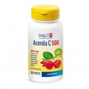 LongLife Phoenix Acerola C 500 - Limone 500mg 30 compresse