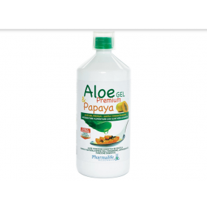 Pharmalife Research - Aloe Gel Premium & Papaya - 1 L