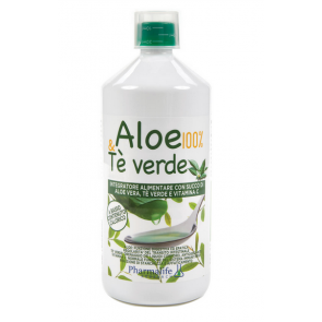 Pharmalife Research - Aloe 100% & Tè Verde - 1 L
