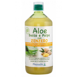 Pharmalife Research - Aloe Succo e Polpa con Zenzero - 1 L