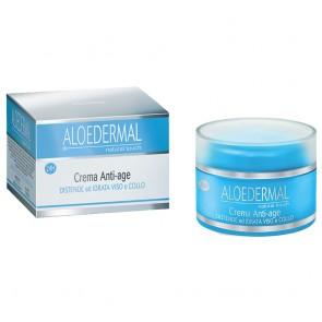 Esi ALOEDERMAL Crema viso anti-age all'Aloe Vera con formula assorbimento rapido 50 ml