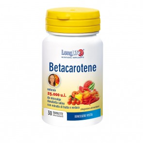 LongLife Betacarotene 25.00015mg