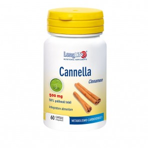 LongLife Cannella 500mg 60 capsule