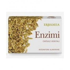 Erbamea ENZIMI 24 Capsule Vegetali