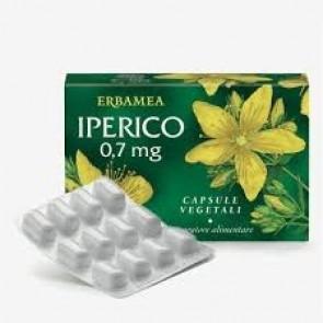 Erbamea IPERICO 0,7 mg 36 capsule vegetali