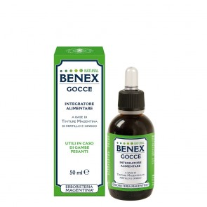 Erboristeria Magentina Gocce Natural Benex 50 ml