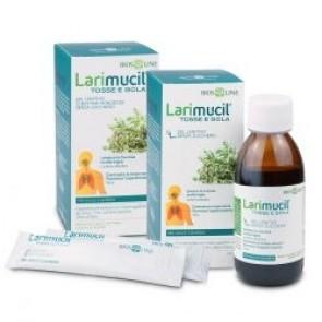 Bios Line Larimucil Tosse e Gola 12 bustine monodose da 10 ml