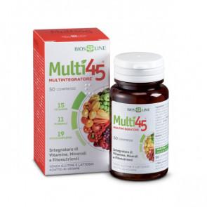 BiosLine Multi45 Multintegratore 100 compresse