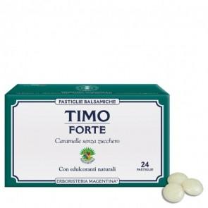 Erboristeria Magentina Pastiglie Balsamiche Timo Forte 24 pastiglie