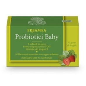 Erbamea PROBIOTICI 10 Flaconcini Baby