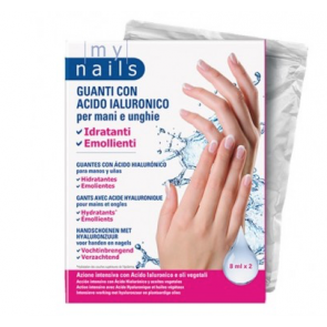 My Nails Guanti con Acido Ialuronico per mani e unghie
