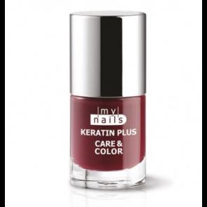 My Nails Keratin Plus Care & Color 007 AMARANTO