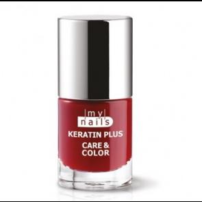 My Nails Keratin Plus Care & Color 010 ROSSO RUBINO